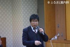 講師を務めた酪農学園大学農食環境学群小糸健太郎教授
