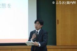 講師を務めた琉球大学農学部杉村泰彦准教授