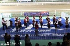 北海道富川高等学校吹奏楽部のファンファーレ演奏